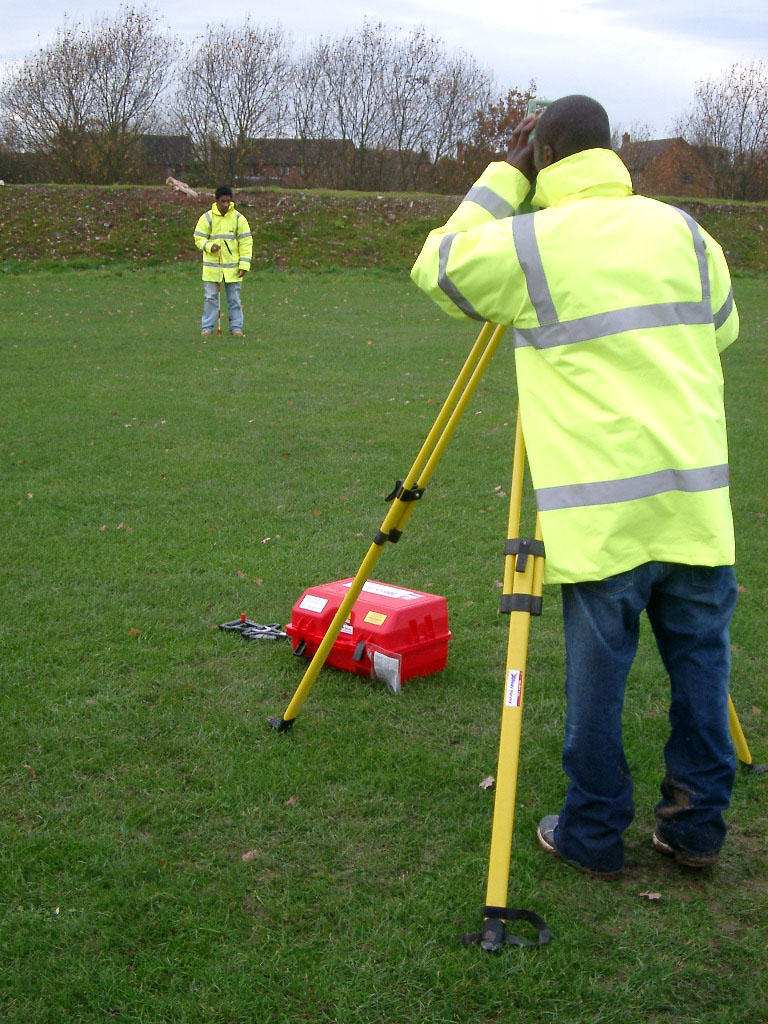 How To Use A Theodolite To Set Out A Building